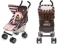 Juicy Couture baby stroller i must have this for my baby