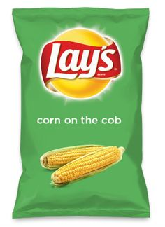 Wouldn't corn on the cob be yummy as a chip? Lay's Do Us A Flavor is back, and the search is on for the yummiest flavor idea. Create a flavor, choose a chip and you could win $1 million! https://www.dousaflavor.com See Rules.