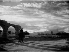 Paisaje inspirado en la epoca de la Revolución, por Gabriel Figueroa