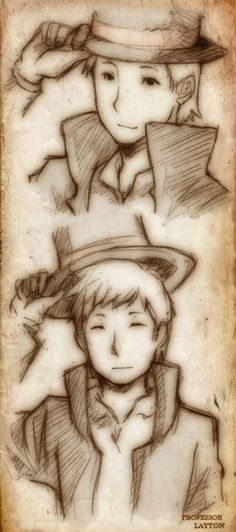 Professor Layton <3 this is soo good 0_0 i love you...