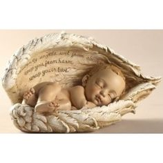 Sleeping Baby Angel Wings Infant Miscarriage Memorial - for my little one who would have been 5 years old this month. Baby Angel Wings, Angel Babies, Wings Of Angels, Beautiful Verses, Beautiful Friend, I Believe In Angels, Angels In Heaven, Heavenly Angels, Tattoo Ideas