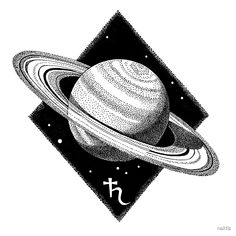 """""""Saturn planet."""" by naktis 
