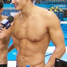 Aww you're adorable way to go Nathan Adrian.