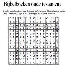 Bijbelboeken Oude Testament