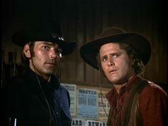 Western TV show, Alias Smith & Jones, Hannibal Heyes & Kid Curry, starring Pete Duel & Ben Murphy. Episode: Everything Else You Can Steal