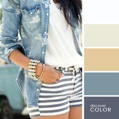 Идеальные сочетания цветов