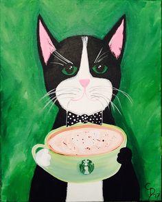 Connie- Coffee Cat