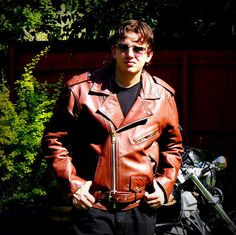 1980s Unusual Brown Leather Heavy Duty by RenegadeRevival on Etsy, $259.00