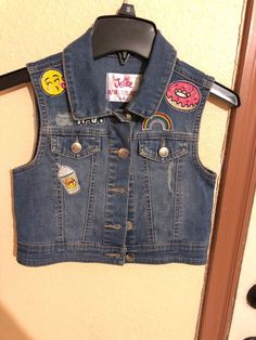 536bbb84d1 Justice good used condition size black girls puffer vest complete with  exterior outside pockets right front pocket has a notch in the fabric I  tried to show ...