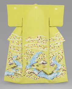 Women's kimono (Kosode) from the early 19th century, Japan (Edo Period). Philadelphia Museum of Art