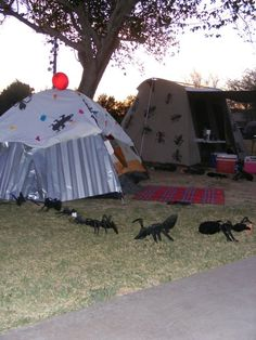 Tent decorating contest is one of the many fun activities during Camping Under the Stars in Marana, AZ