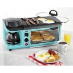 Nostalgia Retro Blue Breakfast Center Toaster Oven BSET300BLUE at The Home Depot - Mobile
