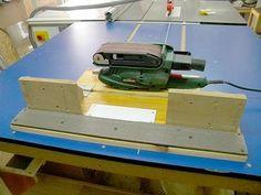Belt Sander - Edge Sanding Platform