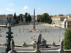 Piazza del Popolo en Roma - http://www.absolutroma.com/piazza-del-popolo-en-roma/