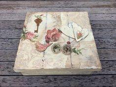 Caja de madera vintage - MYBA - YouTube