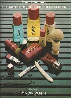Publicité Yves Saint Laurent 1979