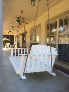 Porch Bed-Swing for Wife's Birthday