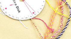 Gratuit : comment faire un disque pour bracelets Kumihimo ?