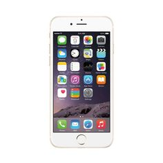 Unlocked Apple - Pre-Owned iPhone 6 4G LTE with 64GB Memory Cell Phone - Gold