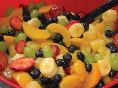 The ultimate fruit salad! VERY GOOD for summertime!