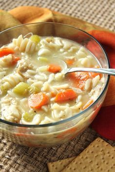 Chicken Noodle Soup from Scratch low fodmap  Recipe for chicken broth