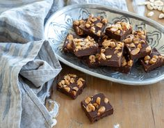 Pumpkin Brownie Pudding with Peanut Butter Sauce - Quirky Cooking Chocolate Peanut Butter Fudge, Cooking Chocolate, Flourless Chocolate, Raw Chocolate, Chocolate Espresso, Espresso Cake, Quirky Cooking, Thermomix Desserts, Natural Peanut Butter