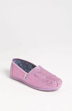 Pink Glitter TOMS!