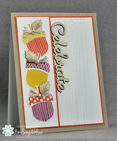 Celebrate with Acorns by atsamom - Cards and Paper Crafts at Splitcoaststampers
