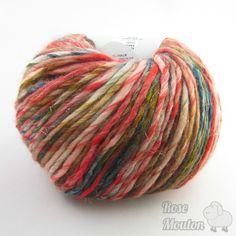 la laine mille colori big luxe de lang yarns est une laine multicolore aux superberbes couleurs - Laine Lang Mille Colori Baby