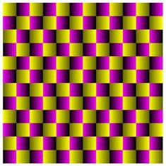 Optical Illusion~ Interesting for a quilt? or just ugly? Hmmmm..........