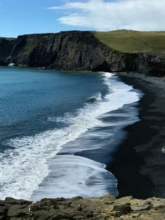Black Sand Beaches i