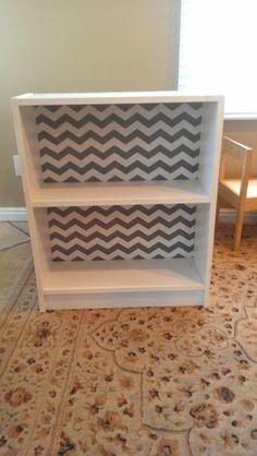 Chevron Self Adhesive Shelf liner, endless ideas.