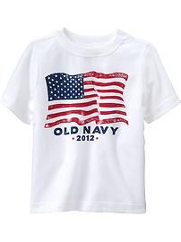 Toddler Boy Clothes: Famous $5 Flag Tees | Old Navy