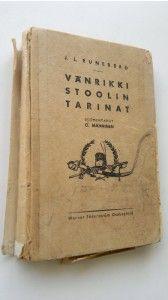 Johan Ludvig Runeberg : Vänrikki Stoolin tarinat : kokoelma runoja Finland, Drinks, Drinking, Beverages, Drink, Beverage