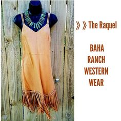 That dress! That turquoise! Cowgirl gypsy dress The Raquel Bombshell Dress  Www.baharanchwesternwear.com