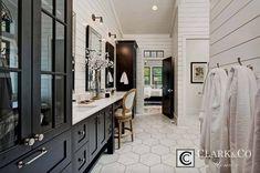 Farmhouse Interior, Modern Farmhouse Style, Farmhouse Ideas, Farmhouse Chic, Custom Home Builders, Custom Homes, Floor Plan Layout, Flex Room, Bathroom Pictures