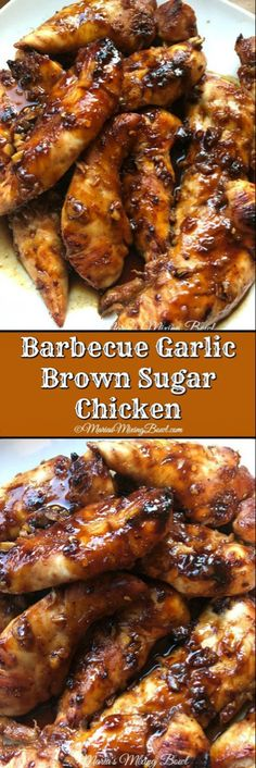 Barbecue Garlic Brown Sugar Chicken is a smoky, slightly sweet chicken with just. Barbecue Garlic Brown Sugar Chicken is a smoky, slightly sweet chicken with just a bit of spice. The flavors are per Turkey Recipes, Meat Recipes, Cooking Recipes, Healthy Recipes, Fennel Recipes, Recipies, Aloo Recipes, Cake Recipes, Garlic Recipes