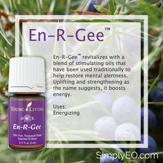 En-R-Gee™ revitalizes with a blend of stimulating oils that have been used traditionally to help restore mental alertness. Uplifting and strengthening as the name suggests, it boosts energy.