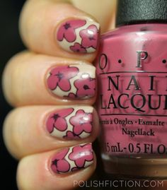 Stamping decals nail art