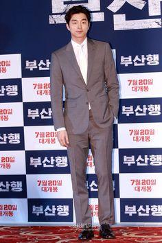 Gong Yoo - Media premiere/ press screening of movie Train To Busan , July 12