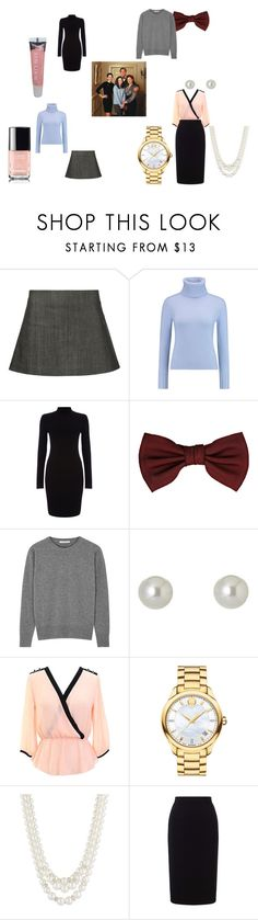 """""""Gilmore Family Meal"""" by ellen-rose132 on Polyvore featuring 321, N.Peal, Phase Eight, Lanvin, Christopher Kane, Givenchy, Movado, Anne Klein, Roland Mouret and Burt's Bees"""