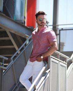 """""""Summer"""" in London Basic Outfits, Casual Outfits, Fashion Outfits, Casual Trends, Men Casual, Stylish Mens Fashion, Fashion Men, Photography Poses For Men, Fashion Photography"""