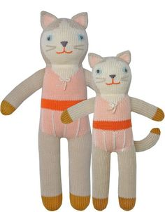 Knit Dolls -- Colette the Cat Blabla