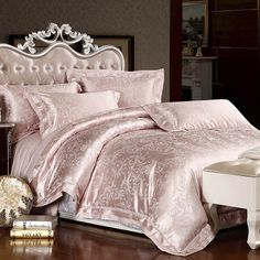 Radiance Shirred Faux Silk Comforter Bedding  1b433124d