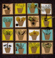 výtvarná výchova náměty podzim - Hledat Googlem Leaf Crafts, Kids Crafts, Nature Crafts, Art School, Advent Calendar, Art For Kids, Holiday Decor, Fall, Color