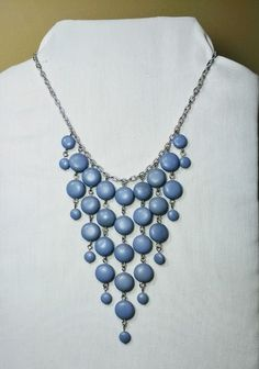 Lavender Bib necklace.