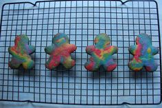 Rainbow Party - butter biscuits