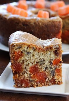 Jam Hands: Classic Southern Orange Slice Cake I'd never heard of the southern classic Orange Slice Cake until recently, but I knew once I saw it that I had to make it. I would describe this … Orange Slice Cake, Orange Slices, Orange Cakes, Pear And Almond Cake, Almond Cakes, Mini Cakes, Cupcake Cakes, Cupcakes, Fruit Cakes