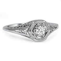 The Kavina Ring from Brilliant Earth  Way to Expensive! But hey that's almost my name! I say it was meant for me still ;)