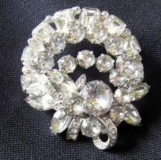 BIG SALE ViNTAGE EiSENBERG BRoOCH...meb...Was 129.99 Now 99.99. $99.99, via Etsy.